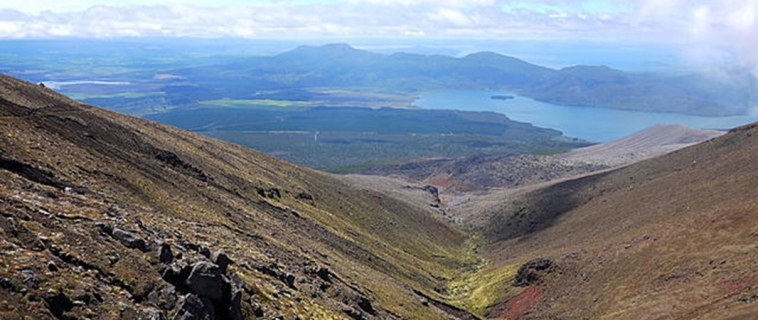 Tongariro Alpine Crossing 邂逅.末日火山
